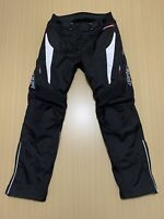Dririder Pants Womens ~ 12 ~ Great Cond Motorcycle Riding w/ Knee Armour Black