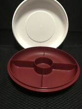 Tupperware Serving Centre Small - Maroon - BRAND NEW