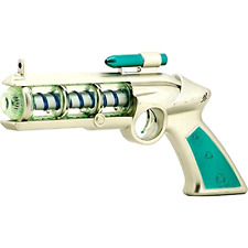 COSMIC SHOCK PHASER Photon Lights Blaster Laser Sound Ray gun Atomic Space Toy .