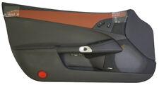 2005-13 Corvette C6 LH Leather Door Panel Ebony/Brick W/Bose Sound New 25878790