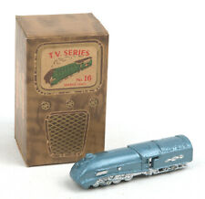 Vintage Benbros T.V Series No.16 Metallic Blue Streamlined Express Loco *BOXED*