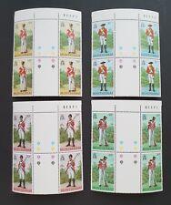 MONTSERRAT 1978 Military Uniforms Stamp1st Series Block of 4 Bridge MNH