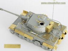 ET Models 1/72 WWII German Tiger I Late Production Detail-up set for Dragon kit