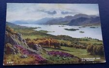 POSTCARD: A447: WINDERMERE AND ITS ISLANDS: UN POSTED