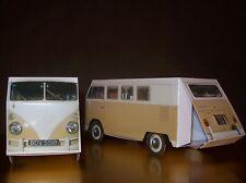 70 x Beige VW Splitscreen Camper Van Nozze Favore/VW Party Box/Scatole Di Dolci