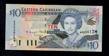 EAST CARIBBEAN STATES  10 DOLLARS ( 2000 ) MONTSERRAT  PICK # 38m UNC-.