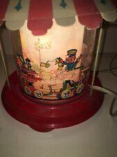 Vintage Econolite Totville Train Childrens Motion Lamp Rotovue 1948 Nursery