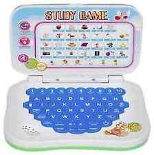 Kids Mini Laptop English Learner Study Game Computer Notebook Toy Signomark