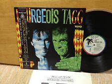 YOYO-Bourgeois Tagg Rare Japan promo LP with OBI