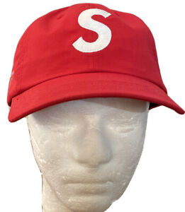 SUPREME VENTILE/ S LOGO 6-PANEL RED HAT OS FW21 WEEK 1 AUTHENTIC/ BRAND NEW