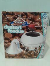 Hershey's Kisses Silver Dessert Fondue Set 2006 Or Candy Dish