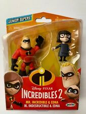 The Incredibles 2 | Mr. Incredible & Edna | Collectable Toys | Junior Supers |