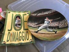 Joe DiMaggio collector plate