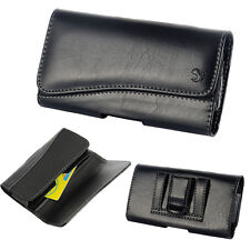 Leather Pouch Executive Wallet Case Holster Fit iPhone 7 6S with LifeProof Cover