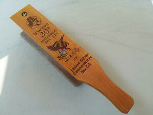 Turkey Call Quaker 30th Anniversary Hand Signed by Dick Kirby Rare 2007
