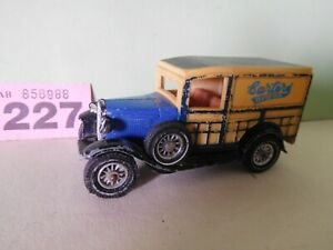 Matchbox models of yesteryear Y-21 1930 Model A Ford Van Carters Seeds (227)