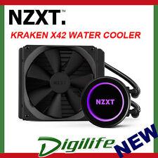 NZXT Kraken X42 140mm AIO Liquid CPU Cooler PC Gaming
