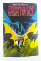 DC GREATEST BATMAN STORIES EVER TOLD (1988) TPB 1st Print Ships FREE!