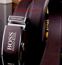 """Hugo Boss  Leather Belt Automatic Buckle ( Fits up to 36"""" Inch )"""