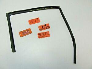 LEFT REAR DOOR RUBBER SEAL DOOR WEATHER STRIP CHANNEL TRACK LR LH L for 04-08 TL