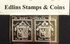 International  society of postmasters - sterling silver - 1843 Switzerland