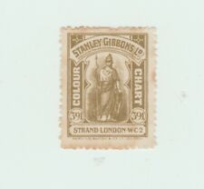 Stanley Gibbons Colour Chart stamp cinderella