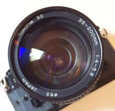 Tokina SD Canon FD Mount 35~200mm f/4~5.6 Macro Zoom Lens Excellent Conditions!