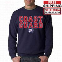 COAST GUARD CREW NECK US Military United States USCG Sweatshirt Army Tshirt USA