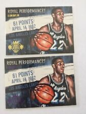 Los Angeles Lakers Not Authenticated NBA Basketball Trading Cards Lot