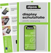 2x Apple iPhone 11 Pro Max Protector de Pantalla protectores mate dipos