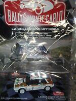 1:43 LANCIA DELTA HF 4WD TOTIP 1988 RALLYE MONTE - CARLO C.  IXO  DIE-CAST MIB