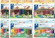 STAEDTLER Colouring Pencils - Noris or Ergosoft - Pack Of 12, 18, 24 or 36