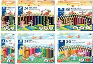 STAEDTLER Noris Colouring Pencils - Pack Of 12, 18, 24 or 36