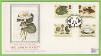 G.B. 1988 Linnean Society set on PPS Silk First Day Cover, London W1