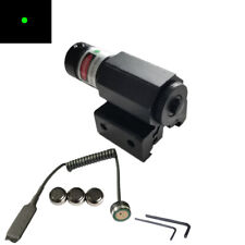 Tactical Hunting Red/Green Dot Laser Sight Scope Picatinny Mount Fo Pistol Rifle