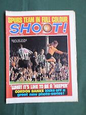SHOOT - FOOTBALL MAGAZINE- 12 DEC 1970  - FERENC BENE - TOTTENHAM HOTSPUR