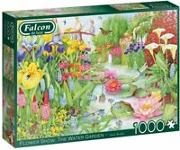 Jumbo 11282 Falcon de luxe - Flower Show 'The Water Gardens' 1000 piece Jigsaw P