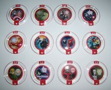 DISNEY INFINITY 2.0 Marvel Heroes Power Disc Set All 12 Ability Round Discs New