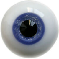 [wamami] 14mm Blue Glass Eyes Black Pupil Outfit For BJD AOD Dollfie