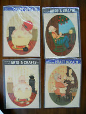 Meyercord Decals for Arts & Crafts 4 Vintage unopened packages #1700-C,E,F & G
