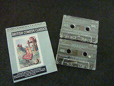 BRITISH COMEDY CLASSICS RARE DOUBLE CASSETTE TAPE! SPIKE MILLIGAN DUDLEY MOORE