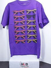 Vans Off The Wall Purple Sunglasses T-Shirt Men's Size Medium