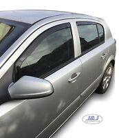 VAUXHALL ASTRA mk5 H 5-doors Hatchback 2004-09 4-pc Wind Deflectors HEKO Tinted