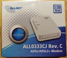 Allnet ALL0333CJ DSL / ADSL2+ Modem Annex B, J, Rev. C - !!! REDUZIERT !!!