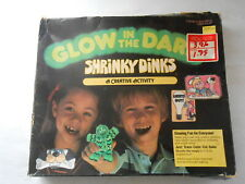 Glow in the dark Shrinky Dinks Colorforms 1979 K & B Nos
