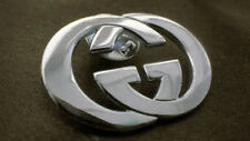 d2e02b2380d GUCCI Silver Fashion Designer Vintage Brooch Pin Purse Jewelry Necklace Bag  GG