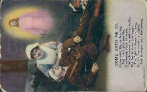 Come unto me no 3 bamforth song postcard 4839/3