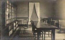 Home Interior - West Upton MA Photographer Carleton Chapman on Back RPPC #1