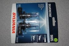 Sylvania Silverstar 9005 Pair Set High Performance Headlight 2 Bulbs NEW