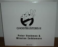 """Brand New GHOSTBUSTERS Peter Venkman & Winston Zeddemore 12"""" Figures COLLECTOR"""